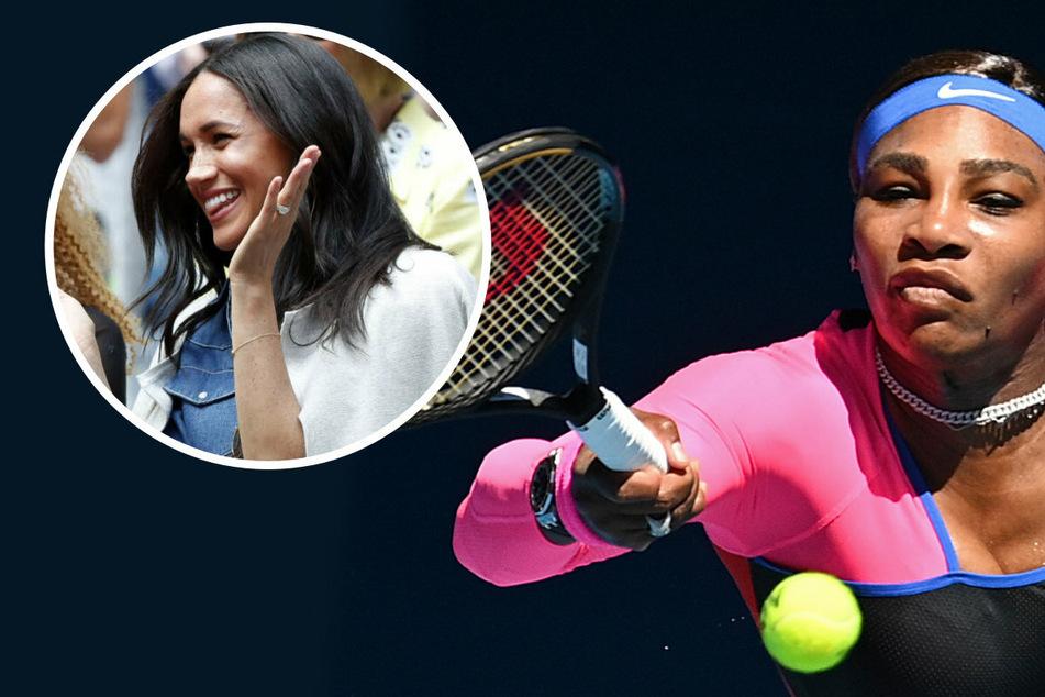 Tennis-Profi Serena Williams spricht Klartext: Das hält sie von Meghan Markles Rassismus-Aussagen!