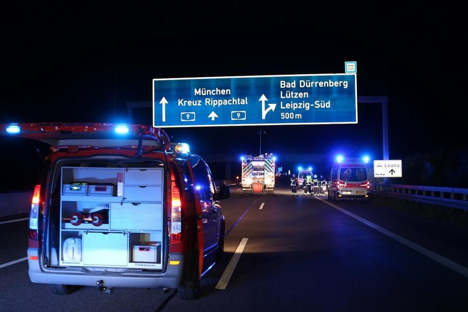 Die Autobahn musste laut Polizei nicht gesperrt werden.
