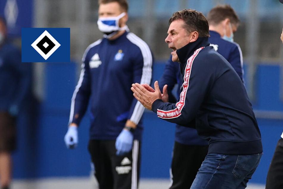 """HSV-Trainer Dieter Hecking vor Heidenheim-Spiel: """"Es geht um alles"""""""
