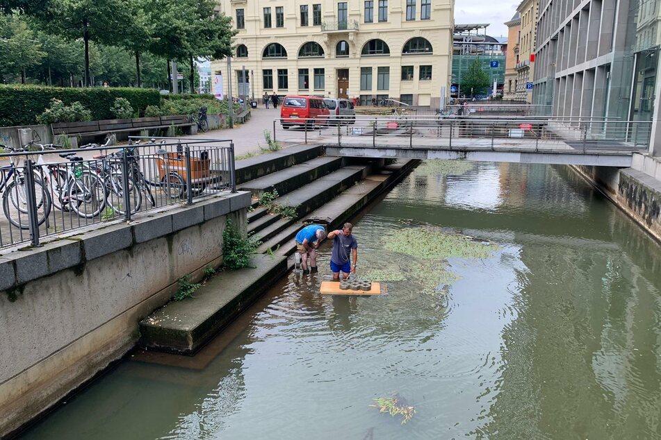 Der Prototyp wurde am heutigen Donnerstag ins Wasser gelassen.