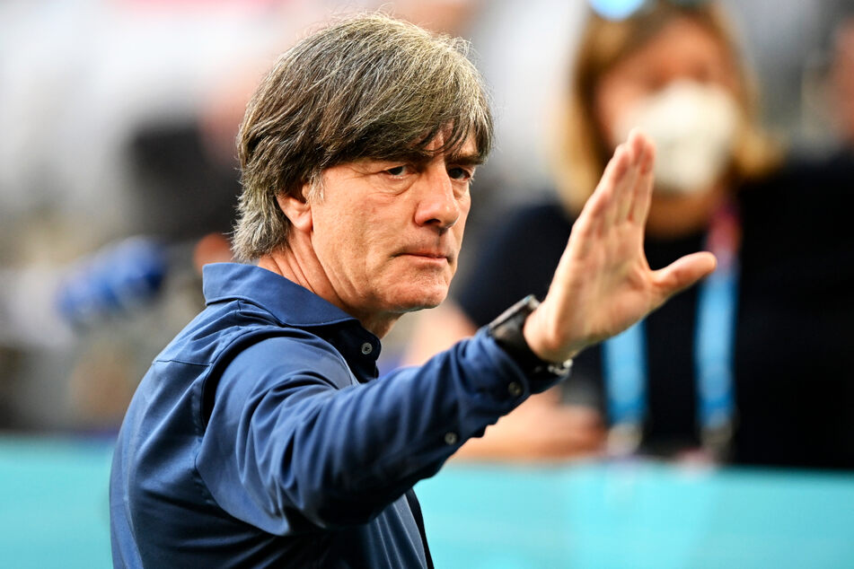 Bundestrainer Joachim Löw (61) war sichtlich erleichtert und angetan vom Spiel seiner Mannschaft.