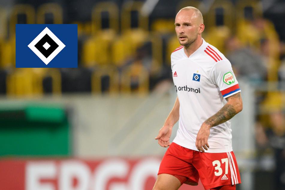 """""""Wenn ich an die Sätze denke..."""": HSV-Profi Leistner spricht über Fan-Eklat bei Dynamo"""