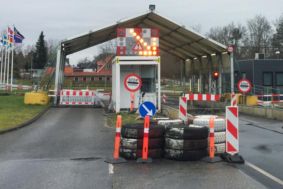 Dänemark schloss bereits am Samstag die Grenze zu Deutschland.