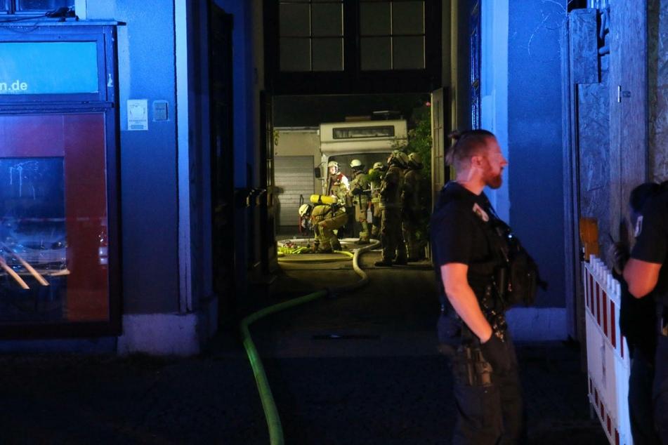 Die Feuerwehr war mit 50 Kräften im Einsatz.