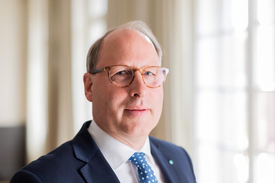 tefan Genth, Hauptgeschäftsführer des Handelsverbands Deutschland (HDE). (Archivbild)
