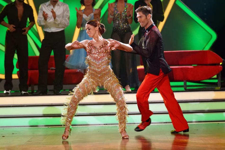 Sie ist der absolute Jury-Liebling: Schlagerprinzessin Vanessa Mai (25) legte mit Tanzpartner Christian Polanc (38) einen 30-Punkte-Auftritt nach dem nächsten hin.