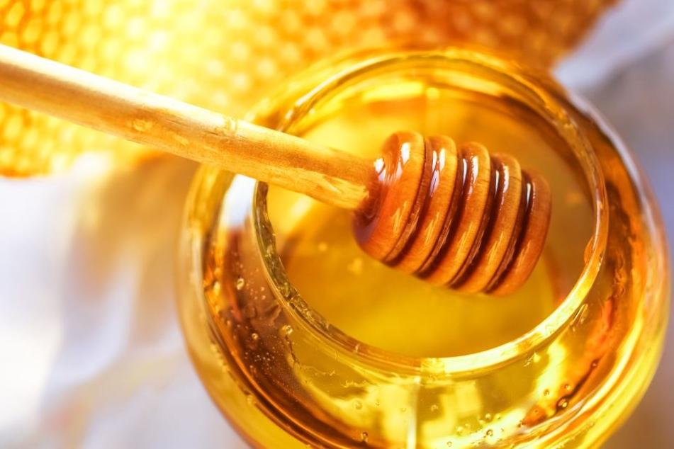 Honig hilft bei Mückenstichen.