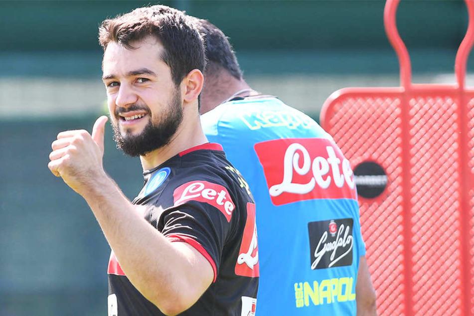 Steht mittlerweile beim italienischen Spitzenverein SSC Neapel unter Vertrag: Amin Younes.