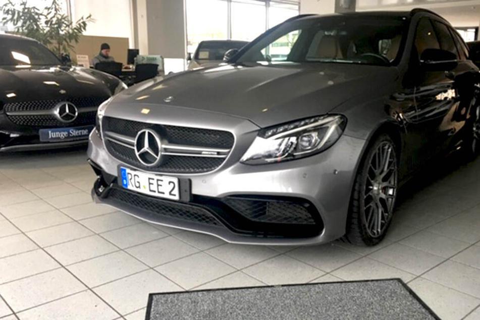 Dieser PS-starke Mercedes wurde in Großenhain geklaut.