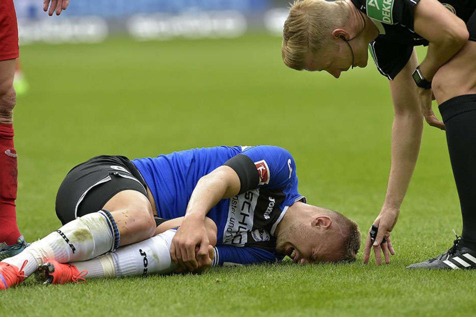 Fällt definitiv aus: Florian Hartherz (24) verletzte sich im letzten Spiel gegen Heidenheim.