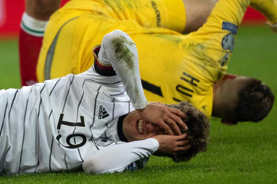 Im November erlitt Nationalspieler Luca Waldschmidt (23) im Spiel gegen Weißrussland eine Gehirnerschütterung und weitere Verletzungen.