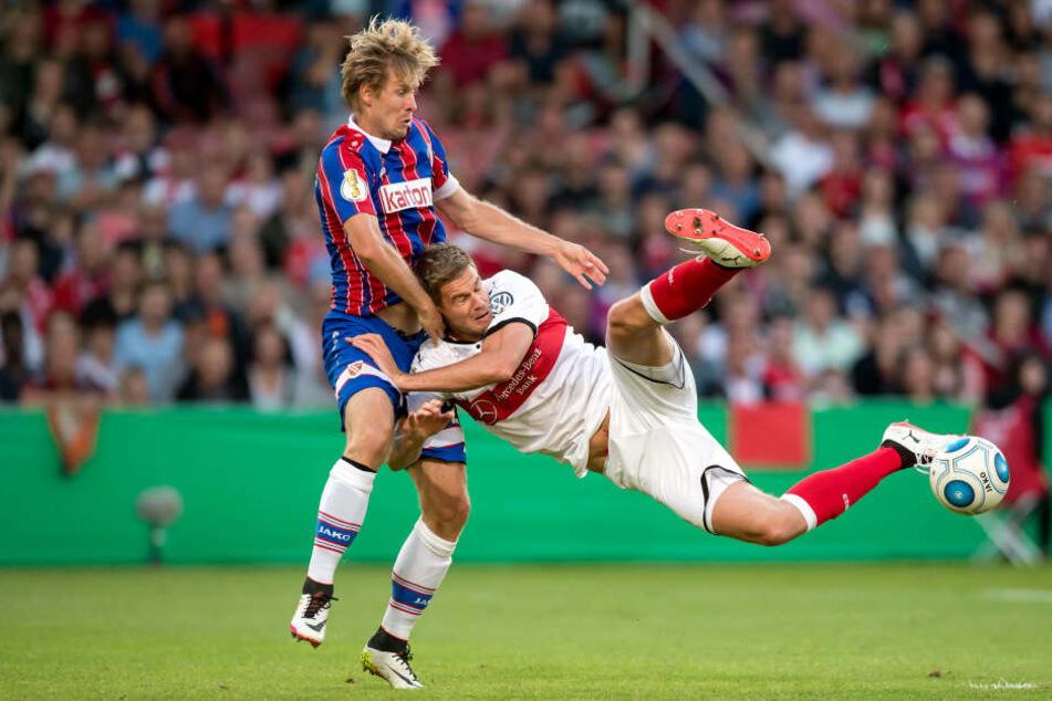 Marc Stein konnte das Ausscheiden im DFB-Pokal trotz starker Leistung nicht verhindern.