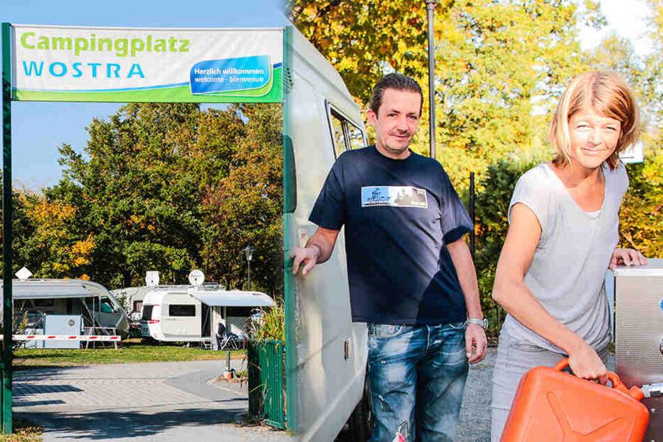 Übernachtungs-Rekord! Holländer stürmen Campingplatz Wostra