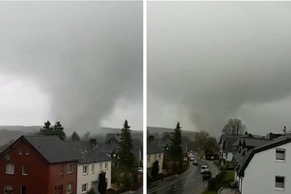 War es ein Tornado? Wirbelsturm fegt über die Eifel hinweg!