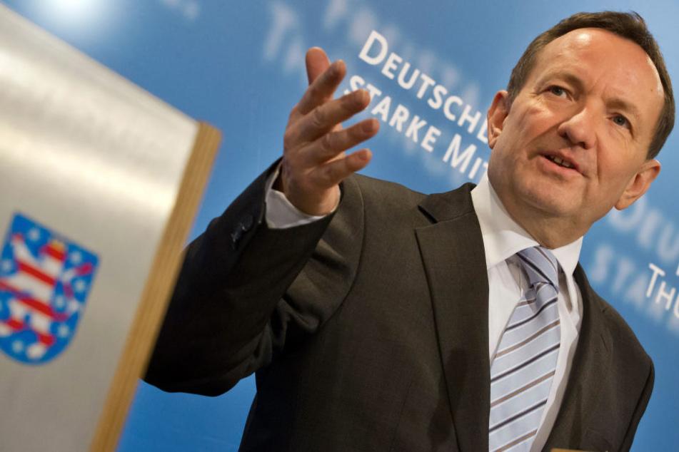 Innenminister Hoger Poppenhäger (SPD) trifft sich am Montag mit seinen Amtskollegen aus Sachsen, Sachsen-Anhalt und Brandenburg.