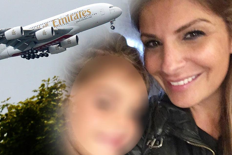 Ellie Holmann und ihre kleine Tochter wurden in Dubai verhaftet.