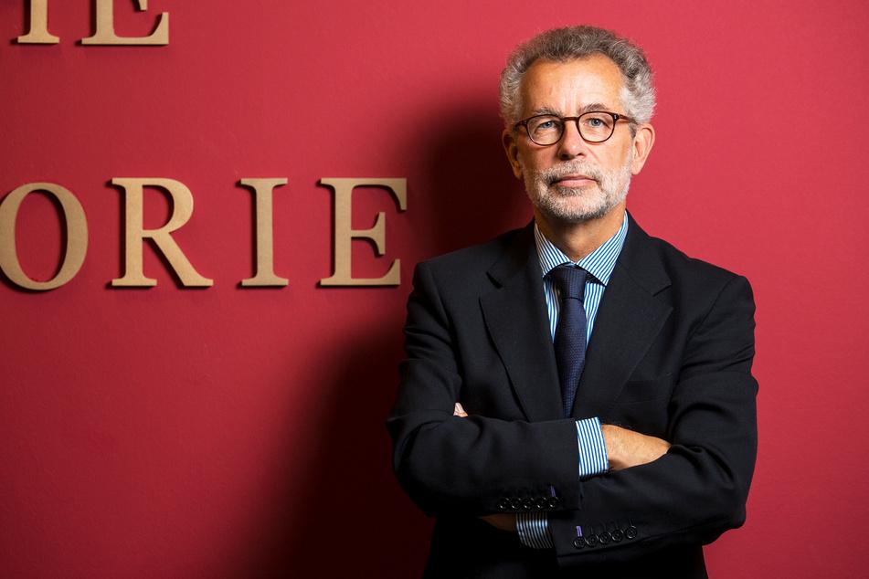 """""""Auf den Schlussspurt kommt es an"""": Politikwissenschaftler Prof. Dr. Hans Vorländer (66) von der TU Dresden."""