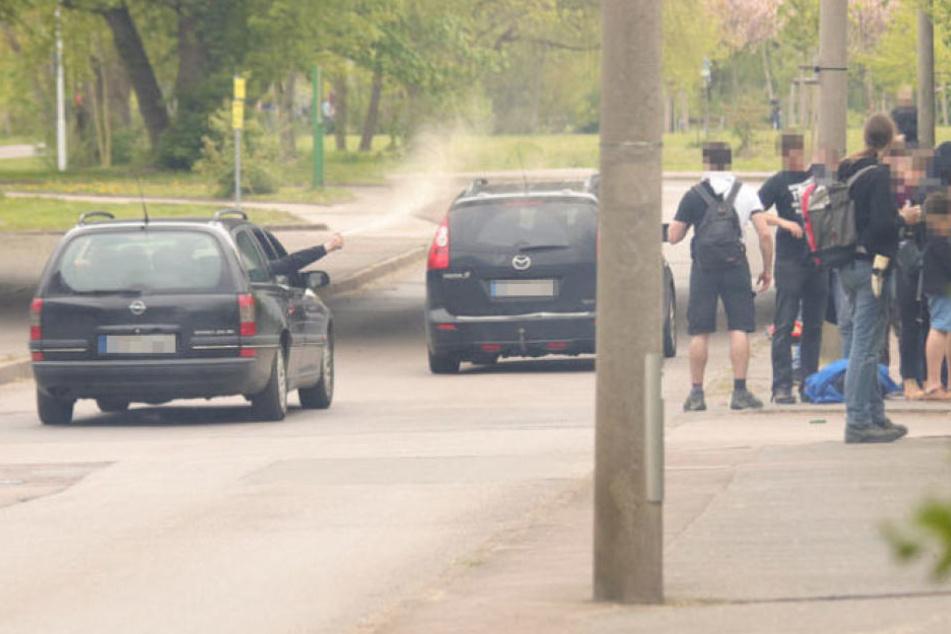 Am 1. Mai attackierten Neonazis in Halle eine Gruppe unbeteiligter Jugendlicher brutal.