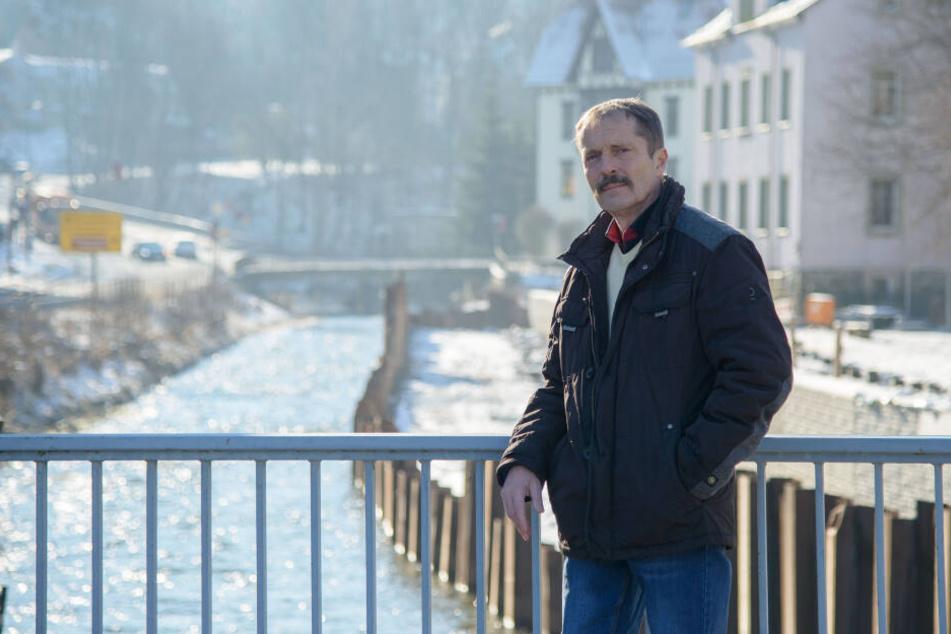 Ralf Kirchübel (59) von der Bürgerinitiative hofft auf Zusagen vom Minister.