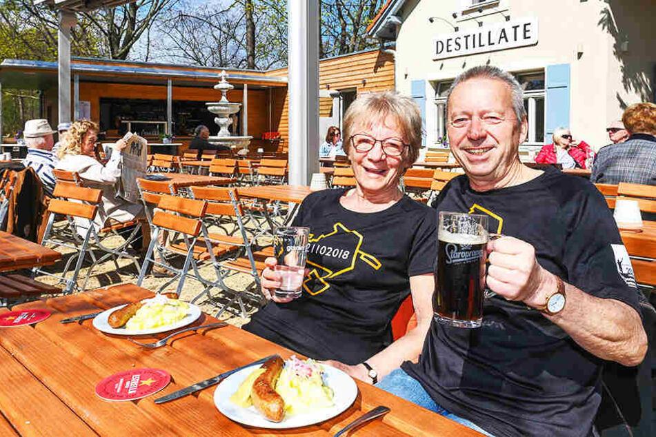Nichts wie hin! Das sind Dresdens schönste Biergärten