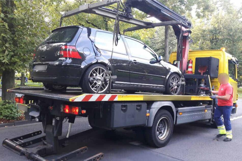 Der Wagen wurde sichergestellt.