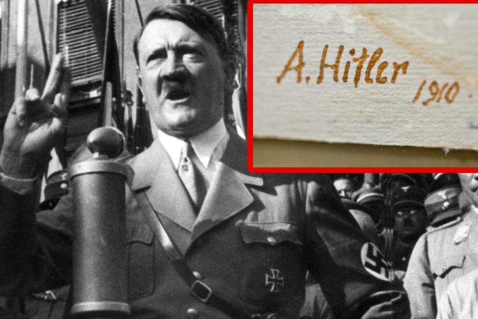 """""""Echte"""" A. Hitler-Werke sollen vesteigert werden, doch dann greift die Staatsanwaltschaft ein"""