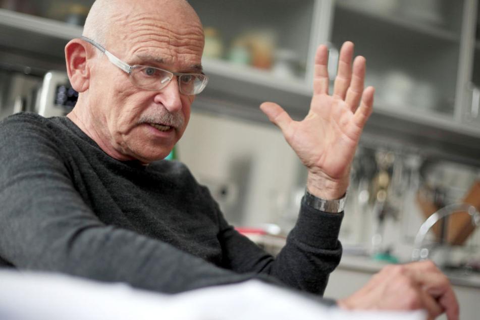 Der Kölner Journalist Günter Wallraff (76).