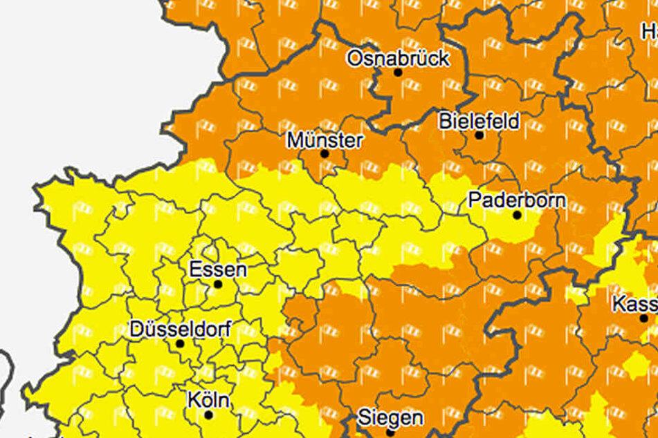 Es wird stürmisch in Ostwestfalen-Lippe.