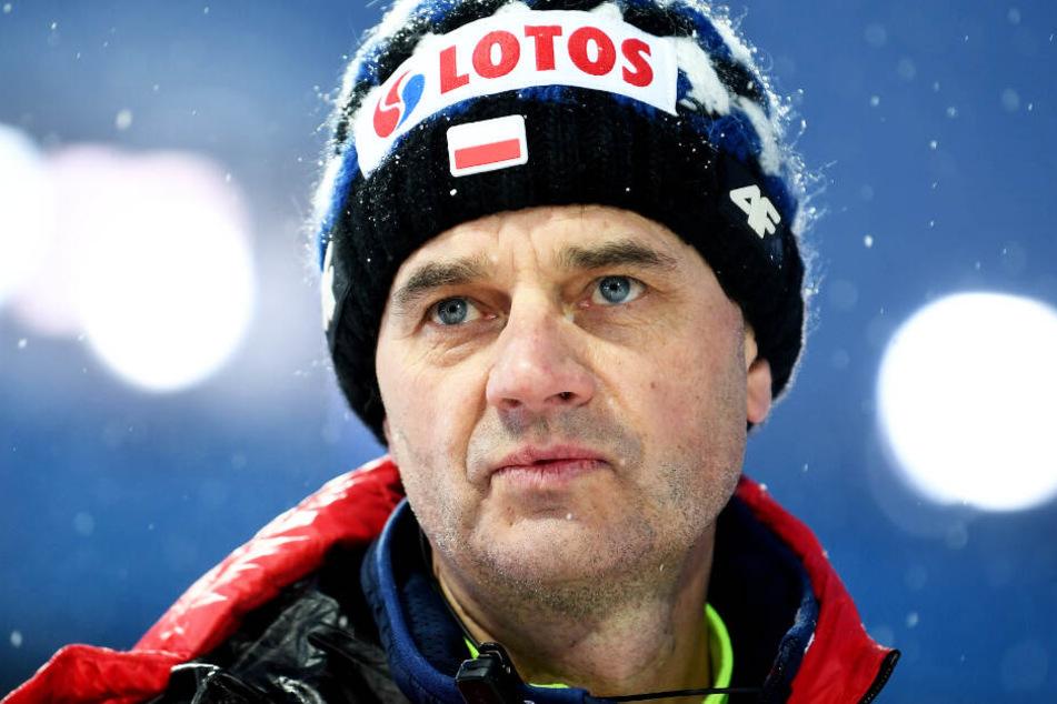 Bundestrainer Stefan Horngacher gibt sich vor dem Start der Tournee zurückhaltend.
