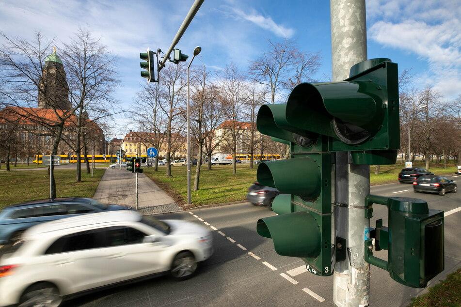Drei, zwei, eins, Grün! Hier steht weitere Countdown-Ampel in Dresden