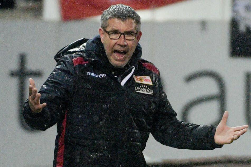 Union-Coach Urs Fischer hadert an der Seitenlinie.
