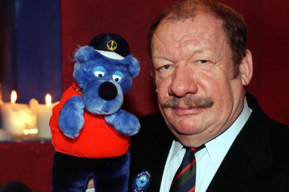"""Kinder liebten Wolfgang Völz (87) als die Stimme von """"Käpt'n Blaubär."""""""