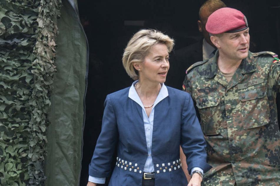 Krass! Von der Leyen will Millionen in Bundeswehrstandort pumpen