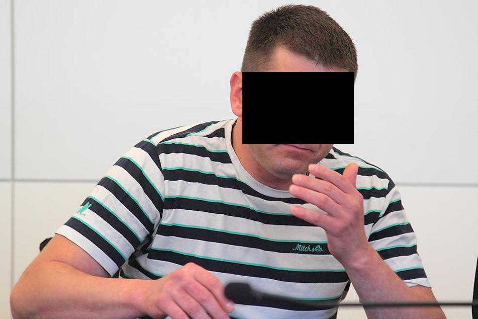 Kenny P. (36) erschlug laut Anklage in der Huschhalle Geza L. (61).