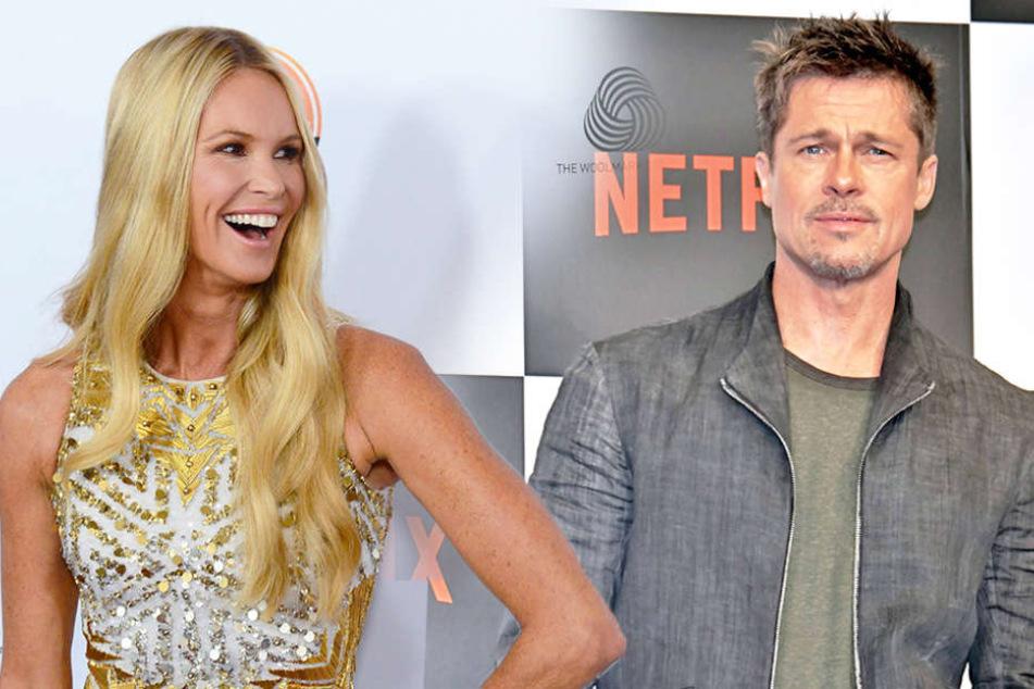 Heißes Date! Brad Pitt flirtet heftig mit schöner Schauspielerin