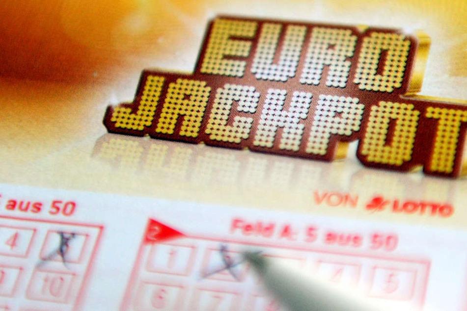 Die andere Hälfte des Eurojackpots ging nach Sachsen-Anhalt (Archivbild).