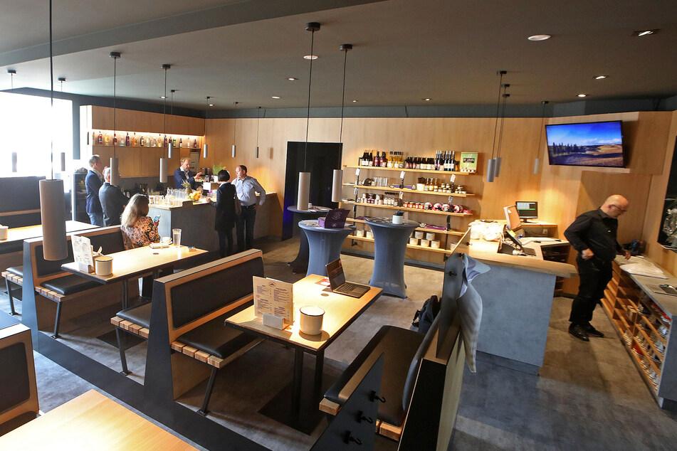 Das neue Restaurant präsentiert sich in edlem Ambiente.