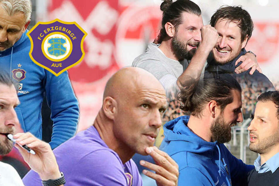 Robin Lenk und die vier Trainer: In Aue wurde es 2017 nie langweilig