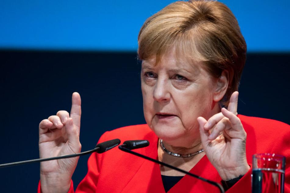 Klima-Paket der Regierung: Merkel verteidigt umstrittenes CO2-Vorhaben