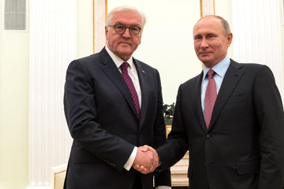 """Bundespräsident Steinmeier warnt: """"Dürfen Russland nicht zum Feind erklären!"""""""