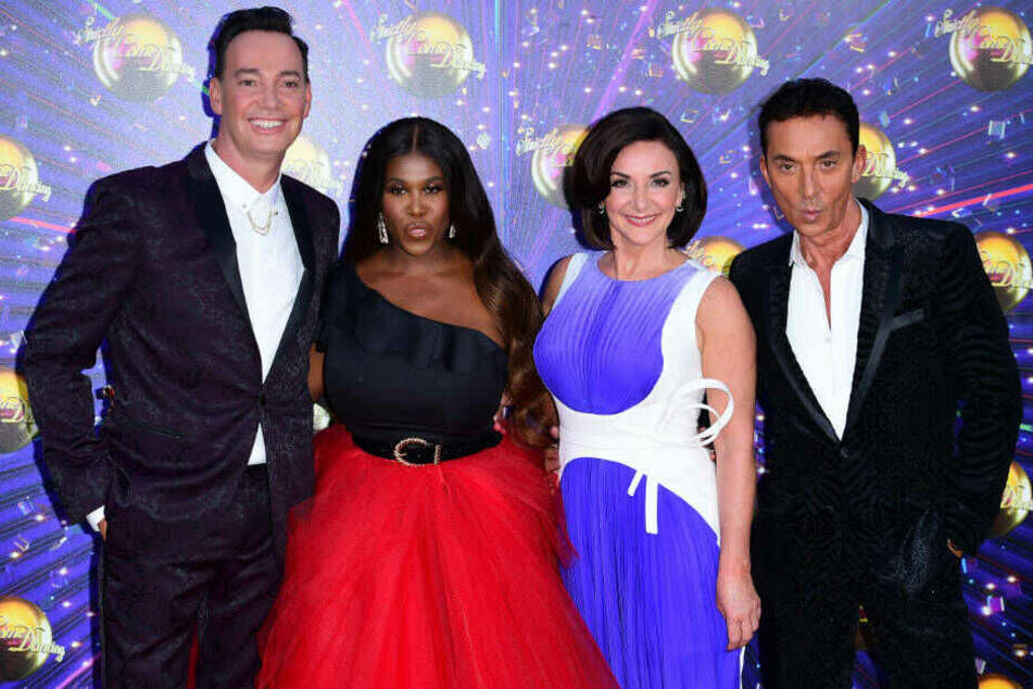 "Die Jury von ""Strictliy Come Dancing"" (v.l.n.r.): Craig Revel Horwood, Motsi Mabuse, Shirley Ballas und Bruno Tonioli."