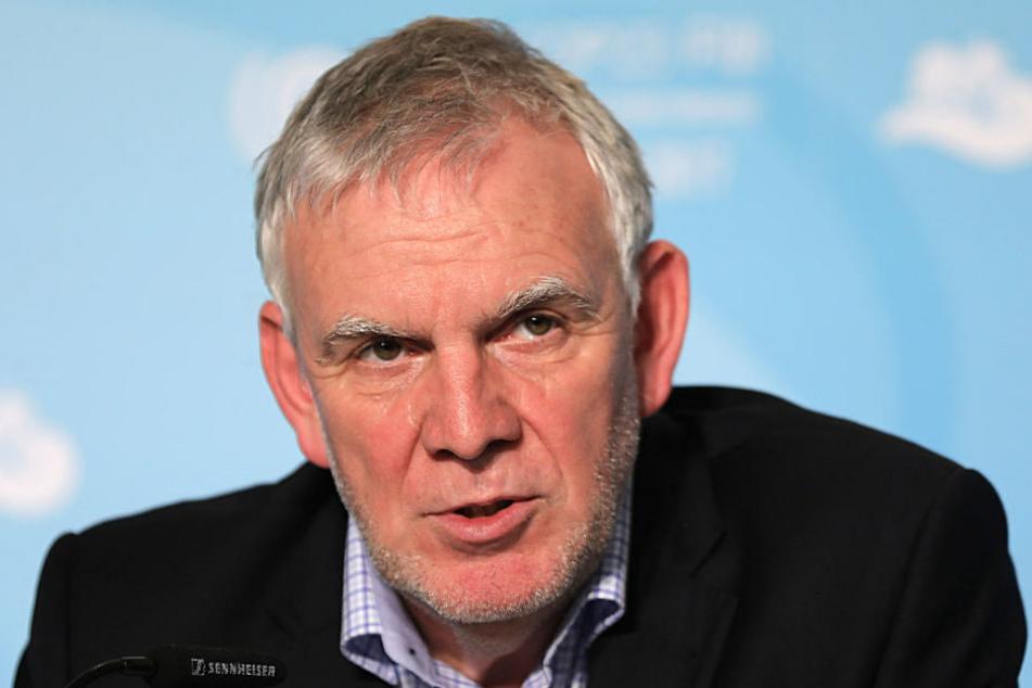 Jochen Flasbarth, Staatssekretär im Bundesumweltministerium, äußert sich zu Tempolimit und Klimaschutz. (Archivbild)