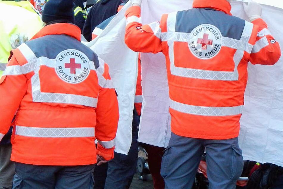 Die Rettungskräfte konnten dem Mann nicht mehr helfen (Symbolbild).