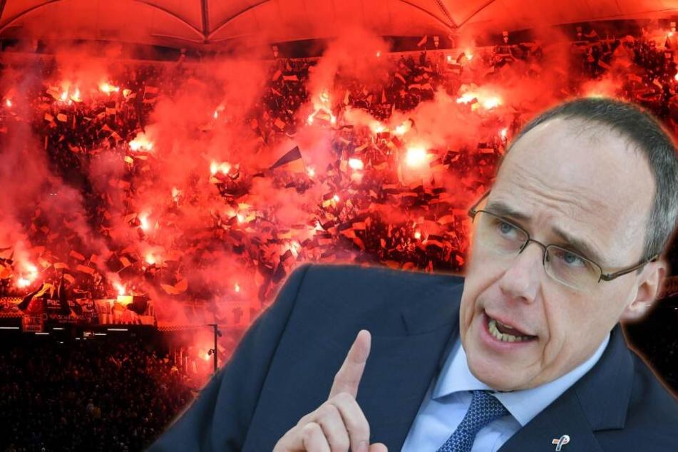 """Dieser Politiker fordert: """"Problemfans"""" raus aus deutschen Stadien!"""