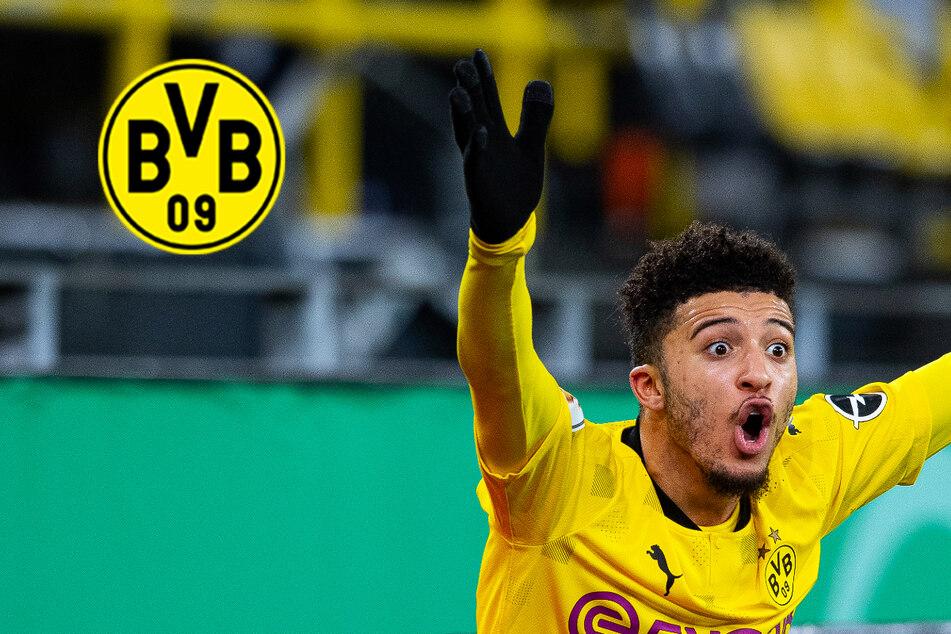 BVB-Schock: Dortmund muss wochenlang auf Jadon Sancho verzichten!