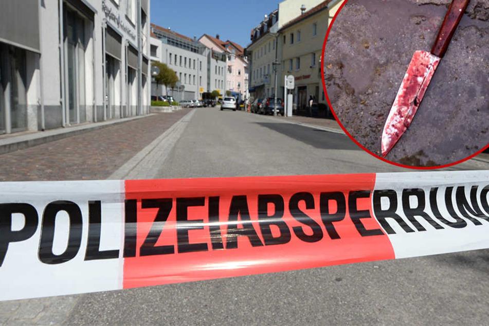 Auf offener Straße kam es in Halle (Saale) der Nacht zu Mittwoch zu einer blutigen Messerattacke, bei der ein 20-jähriger schwer verletzt wurde.