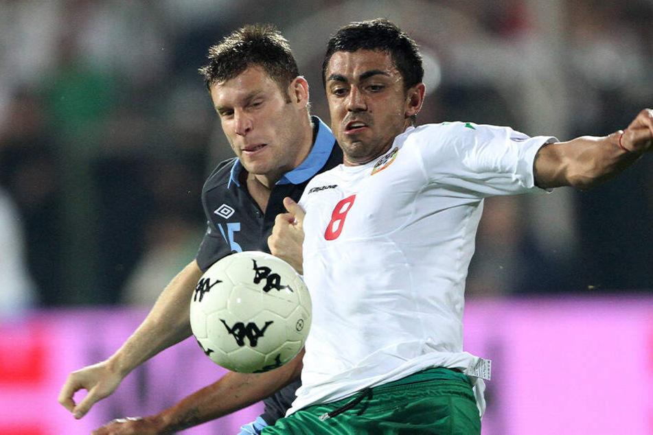 Georgi Sarmov hat sich aus Chemnitz verabschiedet. Der 33-Jährige fiebert dem Auftritt mit Bulgarien am Sonnabend im Wembley-Stadion entgegen.
