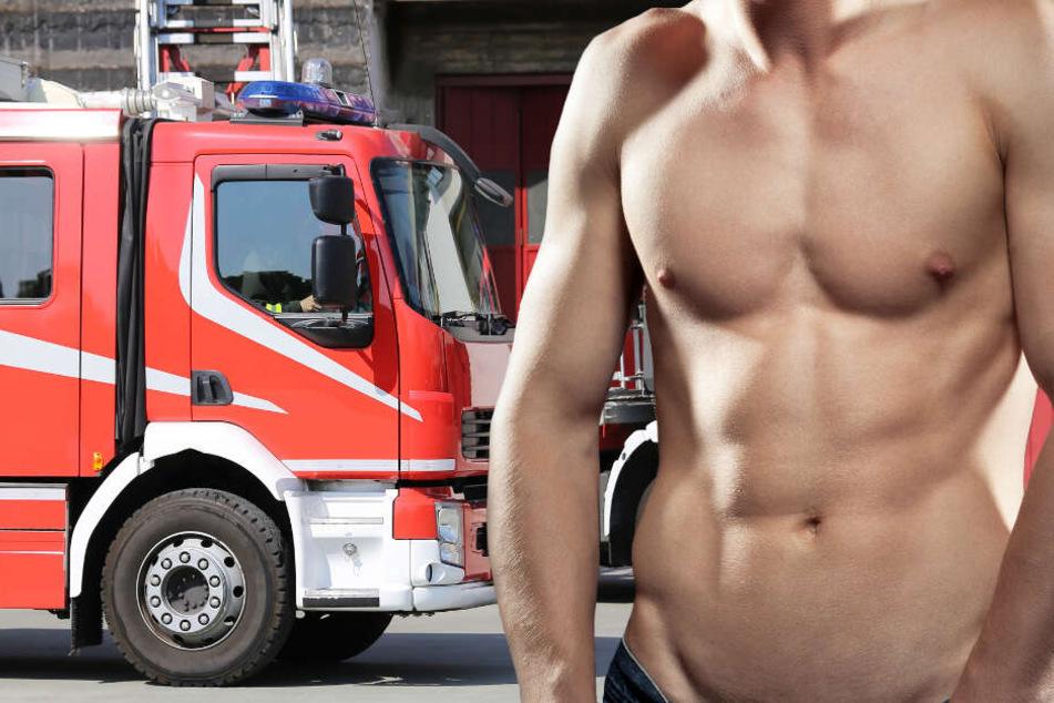Elf Feuerwehrmänner aus Würzburg haben sich für einen Kalender ausgezogen (Symbolbild).