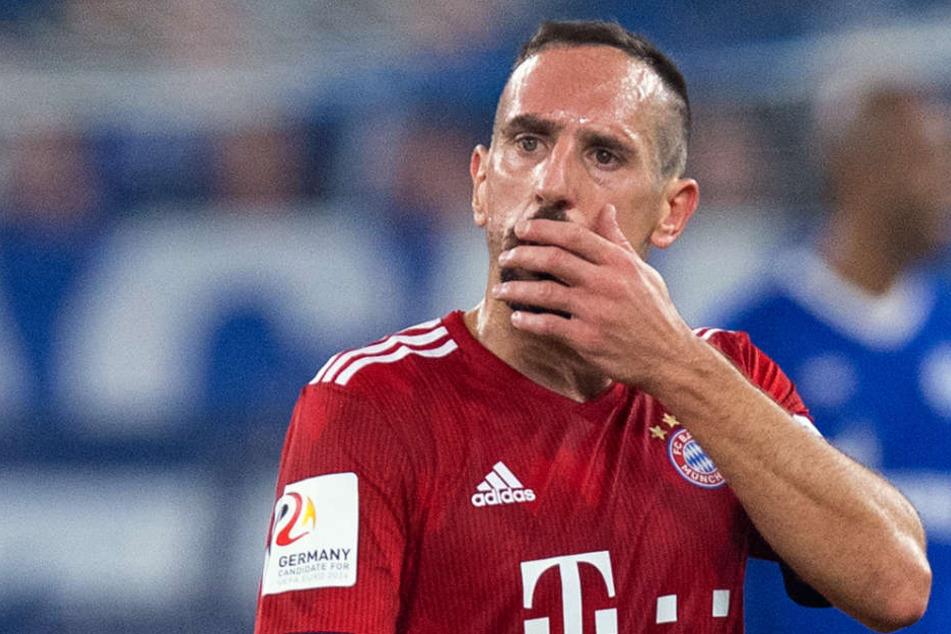 Franck Ribery steht nach seinem Ausraster im Fokus.