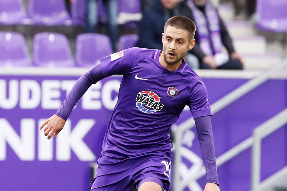 Dimitrij Nazarov peilt mit Asberbaidschan den Nations-League-Aufstieg an.